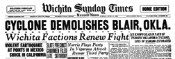 Wichita Sunday Times And Record News newspaper archives