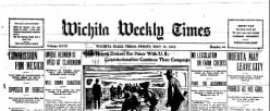 Wichita Weekly Times newspaper archives