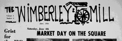 Wimberley Mill newspaper archives