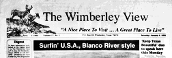 Wimberley View newspaper archives