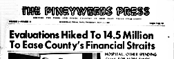 Woodville Pineywoods Press newspaper archives