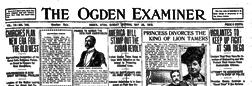Ogden Examiner newspaper archives
