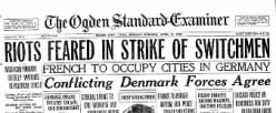 Ogden Standard Examiner newspaper archives