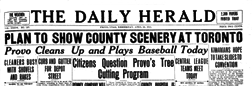 Provo Daily Herald newspaper archives