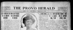 Provo Herald newspaper archives