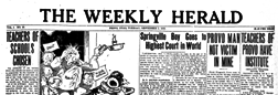 Provo Weekly Herald newspaper archives