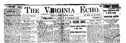 Broadway Virginia Echo newspaper archives