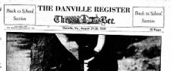 Danville Register The Bee newspaper archives