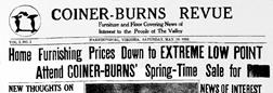 Harrisonburg Coiner Burns Revue newspaper archives