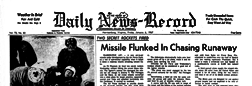 Harrisonburg Daily News Record newspaper archives
