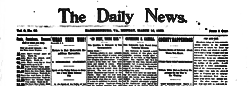 Harrisonburg Daily Times newspaper archives