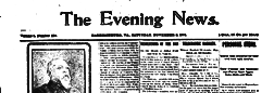 Harrisonburg Evening News newspaper archives