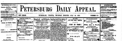 Petersburg Daily Appeal newspaper archives