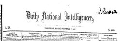 Washington Garfield Memorial newspaper archives