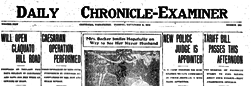 Centralia Daily Chronicle Examiner newspaper archives