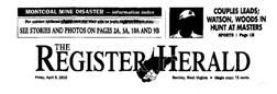 Beckley Register Herald newspaper archives
