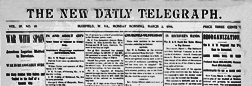Bluefield New Daily Telegraph newspaper archives