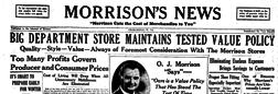 Charleston Morrison News newspaper archives