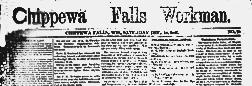 Chippewa Falls Workman newspaper archives