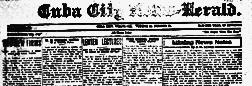 Cuba City News Herald newspaper archives