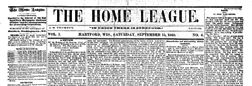 Hartford Home League newspaper archives