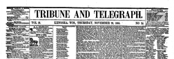 Tribune And Telegraph newspaper archives