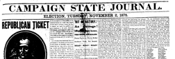 Campaign State Journal newspaper archives