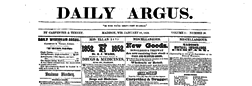 Daily Argus newspaper archives