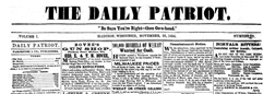 Madison Daily Patriot newspaper archives