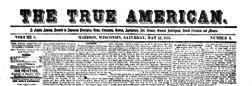 Madison True American newspaper archives