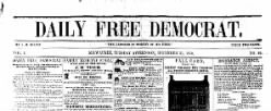 Daily Free Democrat newspaper archives