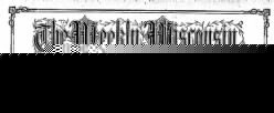 Weekly Wisconsin newspaper archives