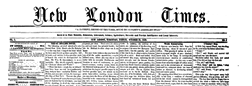 New London Times newspaper archives