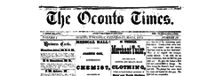 Oconto Times newspaper archives
