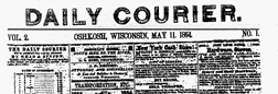 Daily Courier newspaper archives