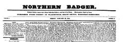 Northern Badger newspaper archives