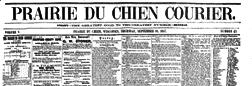 Prairie Du Chien Courier newspaper archives