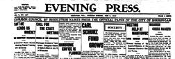 Evening Press newspaper archives