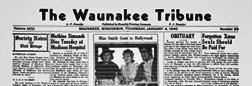 Waunakee Tribune newspaper archives