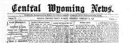 Central Wyoming News newspaper archives