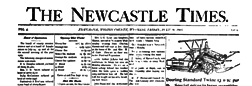 Newcastle Times newspaper archives