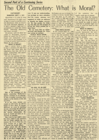 Wellington Daily News Newspaper Archives