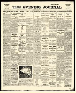 reslj adelaide evening journal archives  may 16  1912  p 1 realjameswoods adelaide evening journal archives  may