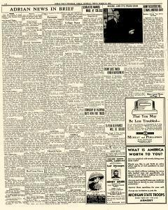 adrian daily telegram archives mar 13 1942 p 6 rh newspaperarchive com