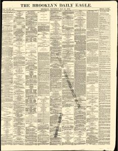Brooklyn Daily Eagle Newspaper Archives, May 18, 1870