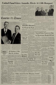 Bucks County Courier Times newspaper archives