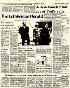 Lethbridge Herald, March 01, 1974, Page 1