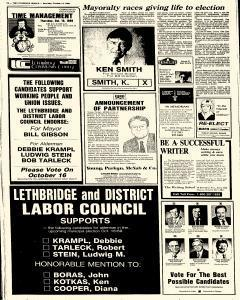 Lethbridge Herald, October 14, 1989, Page 26