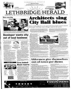 Lethbridge Herald, March 23, 1999, Page 1
