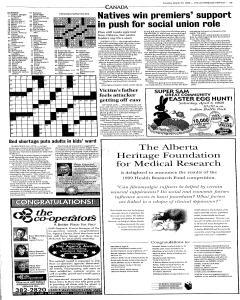 Lethbridge Herald, March 23, 1999, Page 5